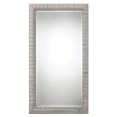 Uttermost Abenaki Ivory Gray Oversized Mirror
