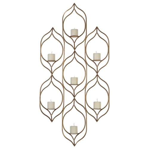 Uttermost Rovena Seven Candle Wall Sconce