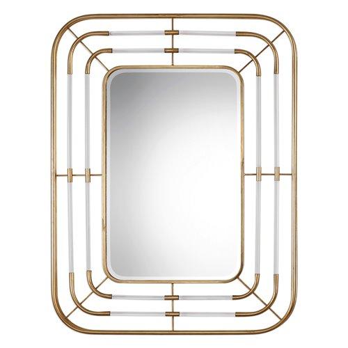 Uttermost Bayo Gold Mirror