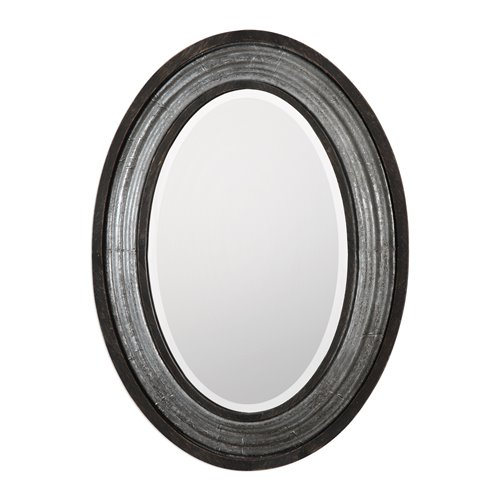 Uttermost Galina Iron Oval Mirror