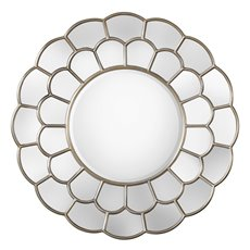 Uttermost Dahlia Silver Mirror