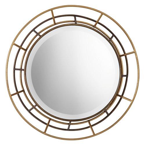 Uttermost Desario Round Mirrors S/2
