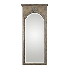 Uttermost Nevola Antiqued Silver Mirror