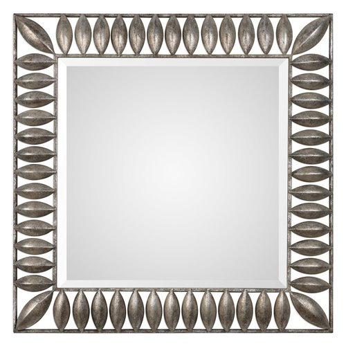 Uttermost Taavetti Forged Iron Pods Mirror