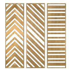 Uttermost Zahara Gold Panels Set/3