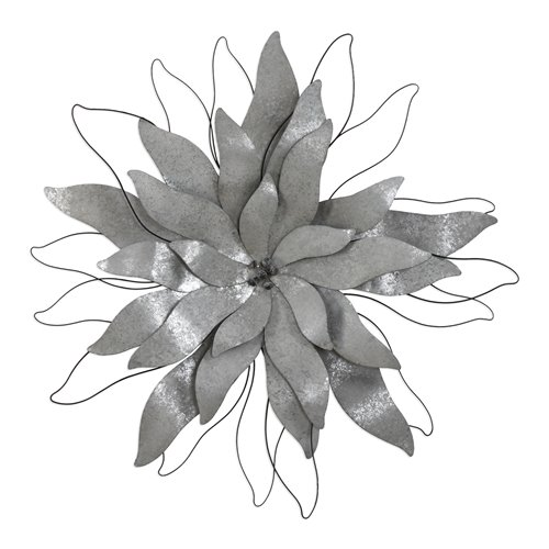 Uttermost Picking Petals Galvanized Wall Art