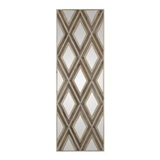 Uttermost Tahira Geometric Argyle Pattern Wall Mirror