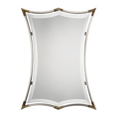 Uttermost Verity Brushed Nickel Mirror