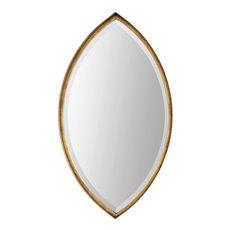 Uttermost Oculus Gold Elipse Mirror