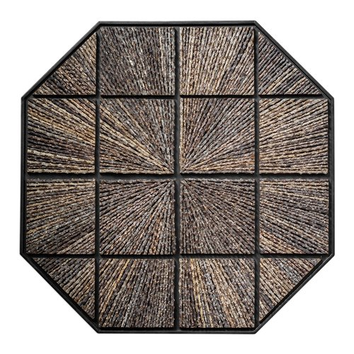 Uttermost Bursting Forth Octagonal Wall Art