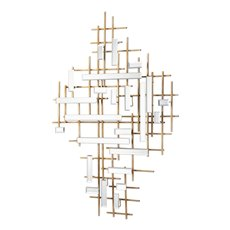 Uttermost Apollo Gold & Mirrored Wall Art
