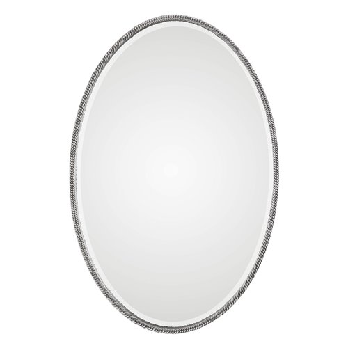 Uttermost Giana Oval Silver Mirror