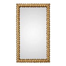 Uttermost Yamuna Metallic Gold Mirror