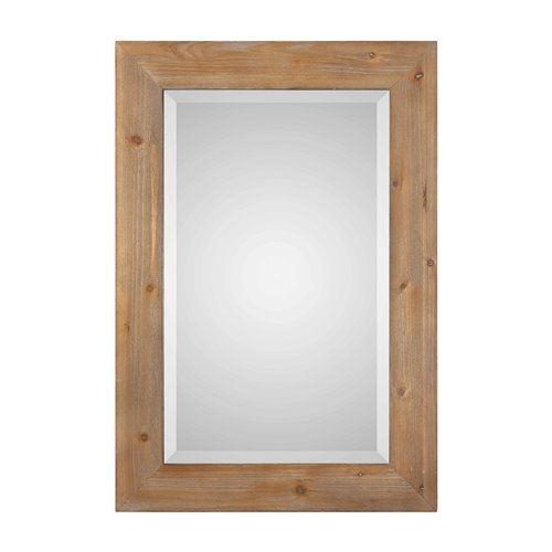 Uttermost Bullock Solid Natural Wood Mirror