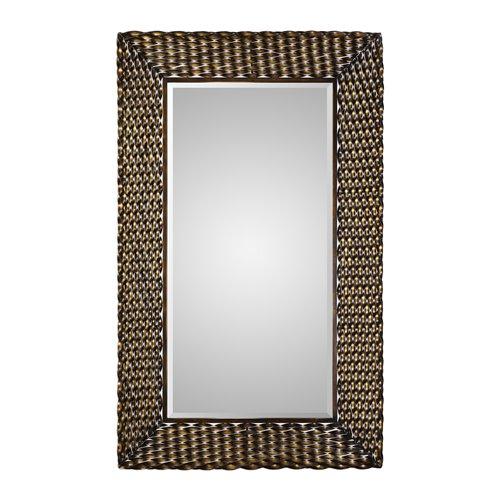 Uttermost Kurupa Twisted Bronze Mirror