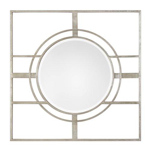 Uttermost Zenon Contemporary Silver Mirror