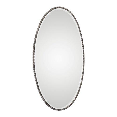 Uttermost Kateel Twisted Iron Oval Mirror