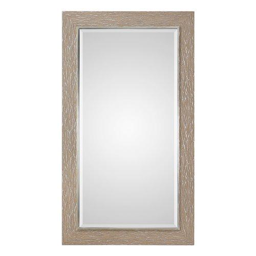 Uttermost Sahel Textured Pine Mirror