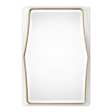 Uttermost Colleen Gloss White Mirror