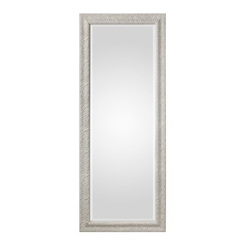 Uttermost Pateley Aged White Wood Mirror