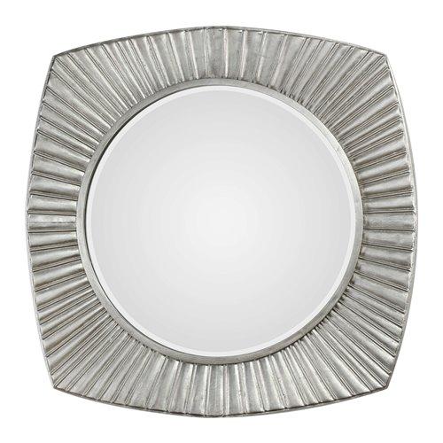 Uttermost Flabella Metallic Silver Mirror