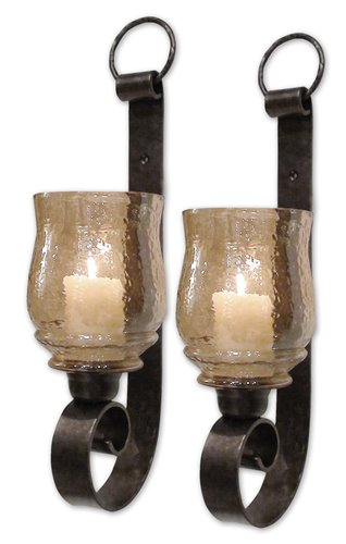 Uttermost Joselyn Small Wall Sconces, Set/2