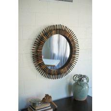 Half Roller Pin Mirror