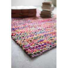 Recycled Multi - Color Cotton Rug