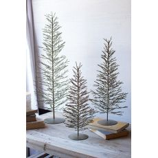 Wire Trees - Brass Set of 3