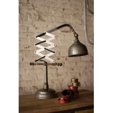 Industrial Scissor Table Lamp