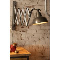 Industrial Scissor Wall Lamp