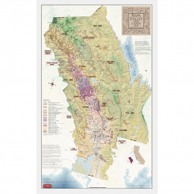 Sonoma County Wine Country Map – Appellations & Wineries