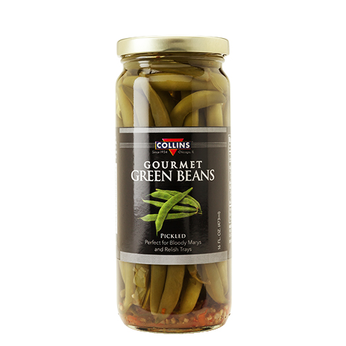 16oz. Gourmet Pickled Green Beans