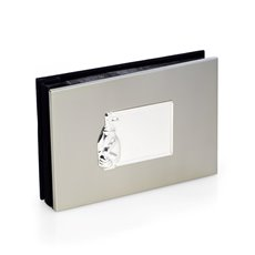 Silver Plated Golf Photo Album with Personalization Plate Holds 50 4x6 Photos