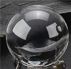 4 Clear Glass Sphere
