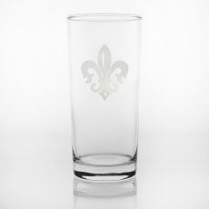 Grand Fleur De Lis Cooler Glasses, Set of 4