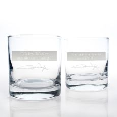 John Wayne Quotes Series 1 OTR 11Oz Glasses, Set of 2