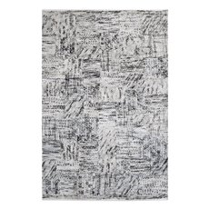 Uttermost Junction Gray 9 X 12 Rug