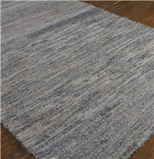 Uttermost Genoa 9 X 12 Rescued Denim & Wool Rug