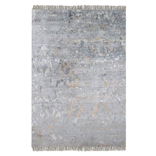 Uttermost Bhutan Gray 6 X 9 Rug