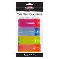 2oz Neon Shooters Card (PK/4)