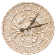 """Crab 16"""" Indoor Outdoor Clock"""