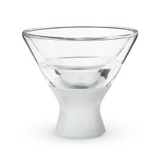 Glass FREEZE Martini Glass (set of two) by HOST