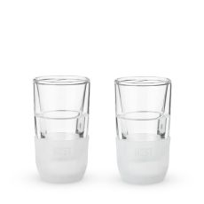 Glass FREEZE Shot Glass (set of two) by HOST