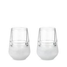 Glass FREEZE Wine Glass (set of two) by HOST
