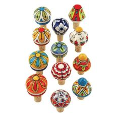 Assorted Ceramic Stoppers by Twine
