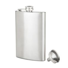 TrueFlask 8 oz Stainless Steel Flask