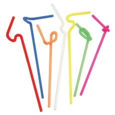 Twisted: Ultra-Bendy Straws