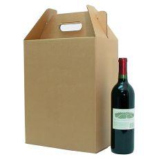 6 Bottle Corrugate Wine Carryout