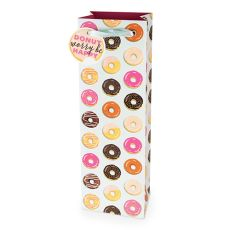 Donut Pattern 750ml Bottle Bag By Cakewalk